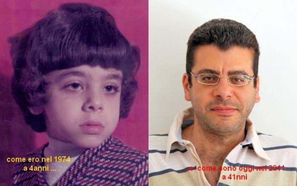 Come ero (1974), come sono oggi (2011)