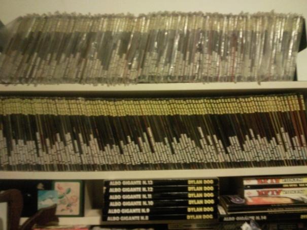 Dylan Dog, la mia collezione completa ed originale