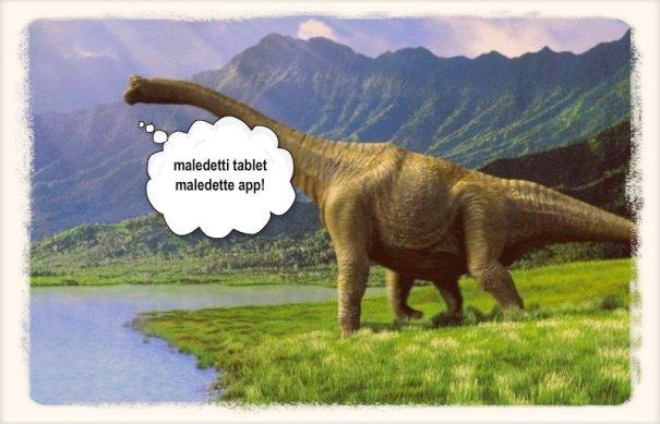 i dinosauri della rete
