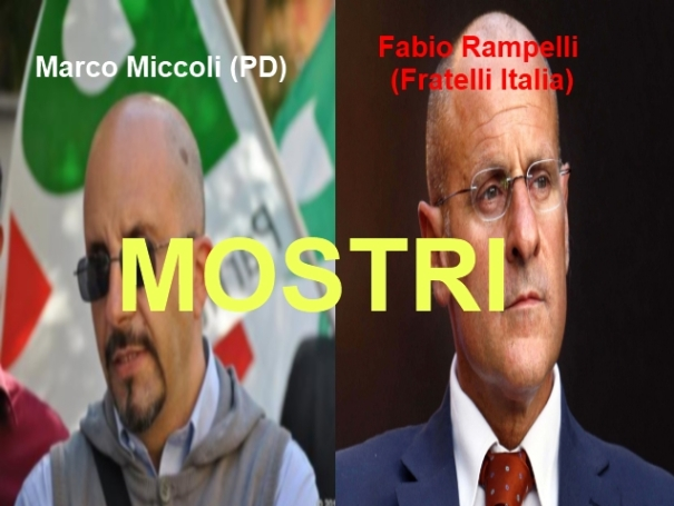 Marco Miccoli e Fabio Rampelli