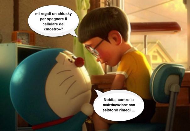 Al cinema io, Doraemon ed il mostro