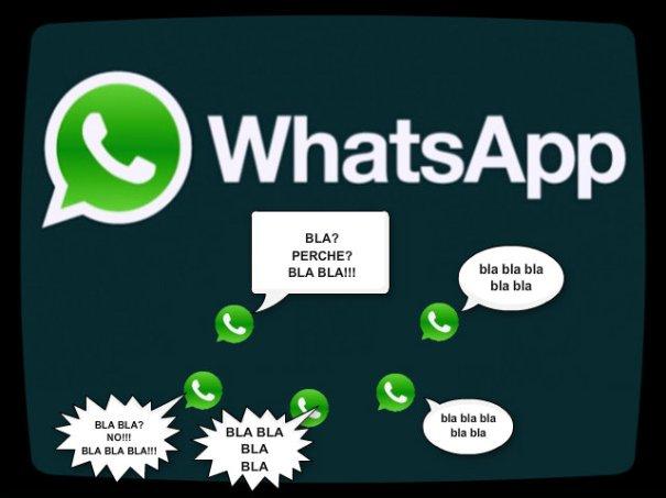 Gruppi Whatspp la nuova frontiera della maleducazione