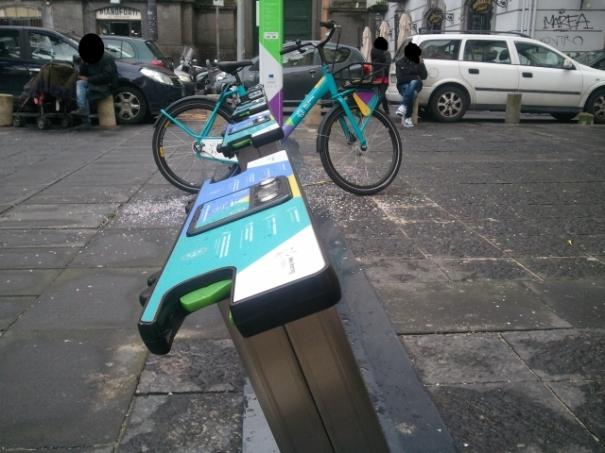 Bike sharing Napoli, ho provato il servizio. Ecco come è andata