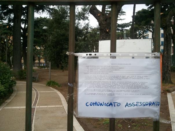 Napoli, perché il Parco Mascagna (chiuso) è l'emblema dell'Italia