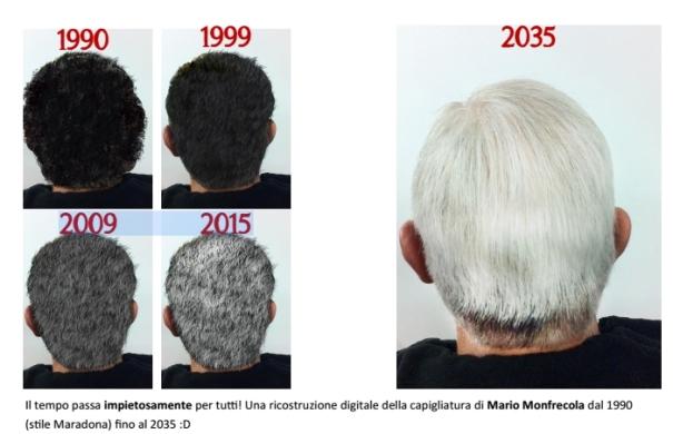 CADZINE svela quanti capelli bianchi avremo nel 2035