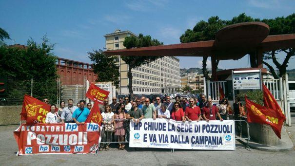 HP Pozzuoli, dodicesimo giorno di sciopero