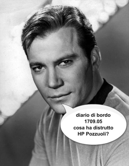 HP Pozzuoli, giornale di bordo di un dipendente – data astrale 1709.05