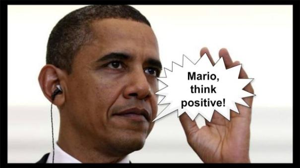 Maticmind, il primo complimese: anche Obama invita a pensare positivo!